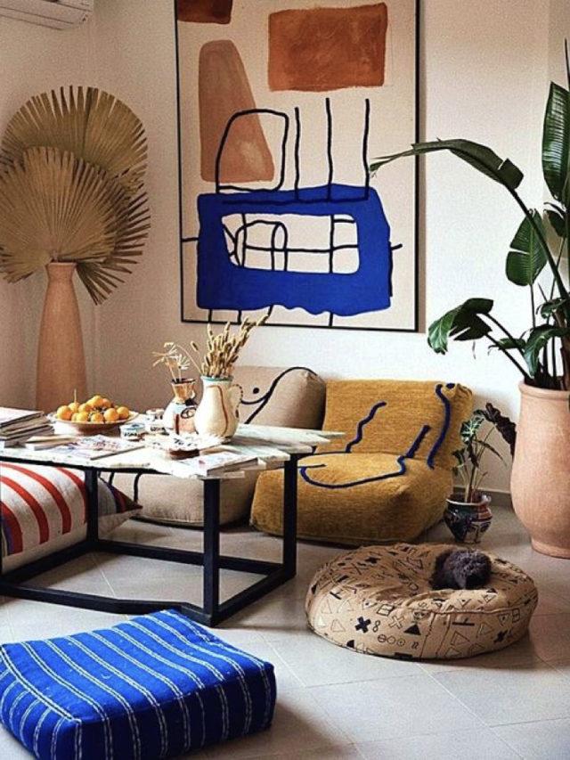 salon deco style arty design art
