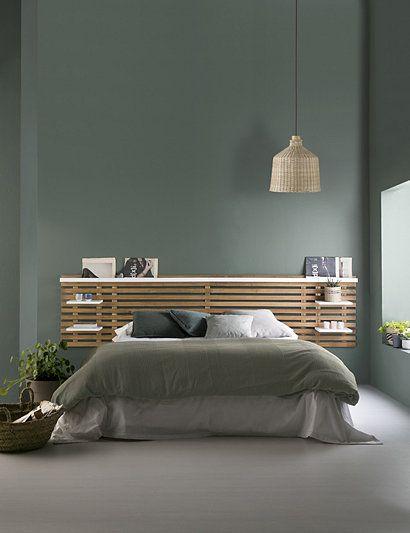 vert sauge chambre comment l'utiliser avec bois