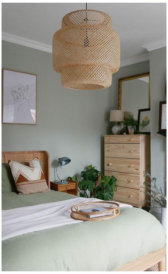 vert sauge chambre comment l'utiliser style nature