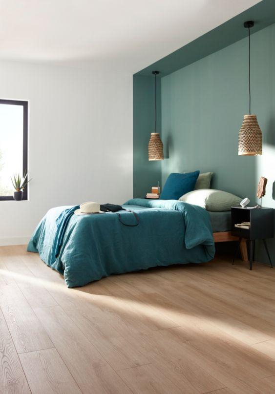 vert sauge chambre peinture