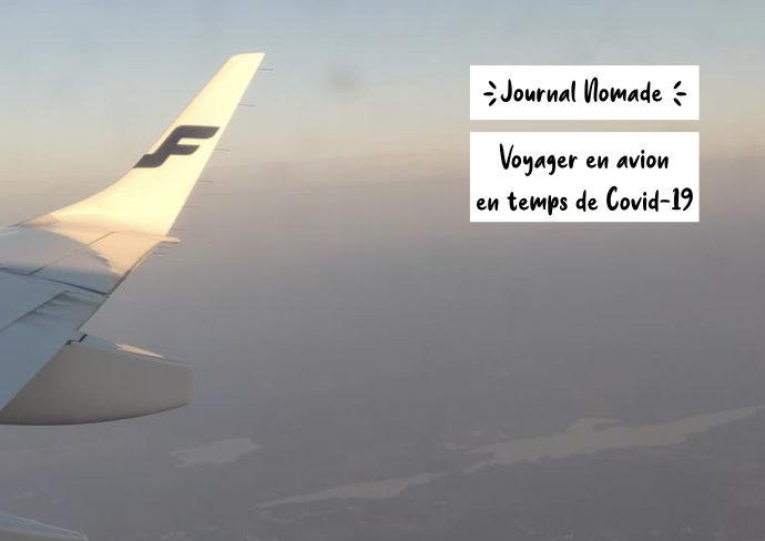 voyage avion covid experience