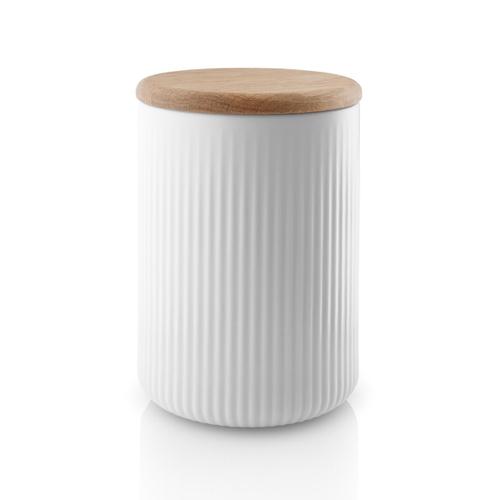 accessoire en bois decoration cuisine blanche pot cuisine conserve zéro déchet