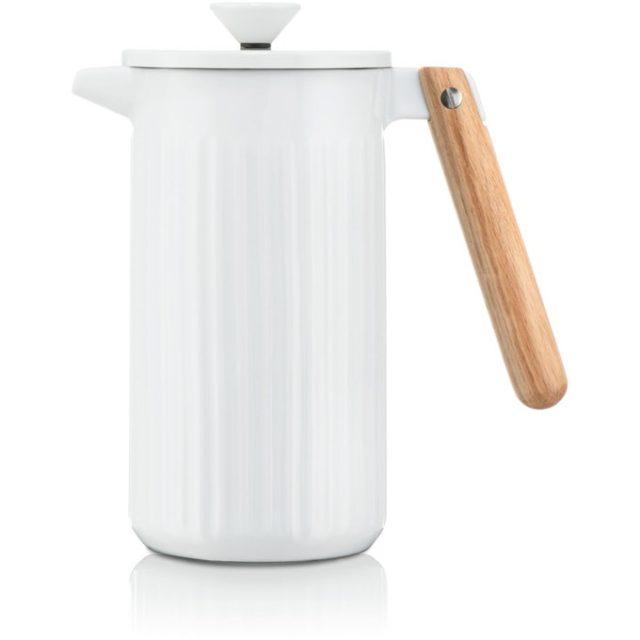 accro cafe cadeau deco noel cafetiere blanche