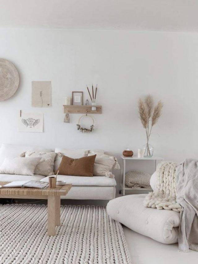 blanc tendance couleur deco salon style slow
