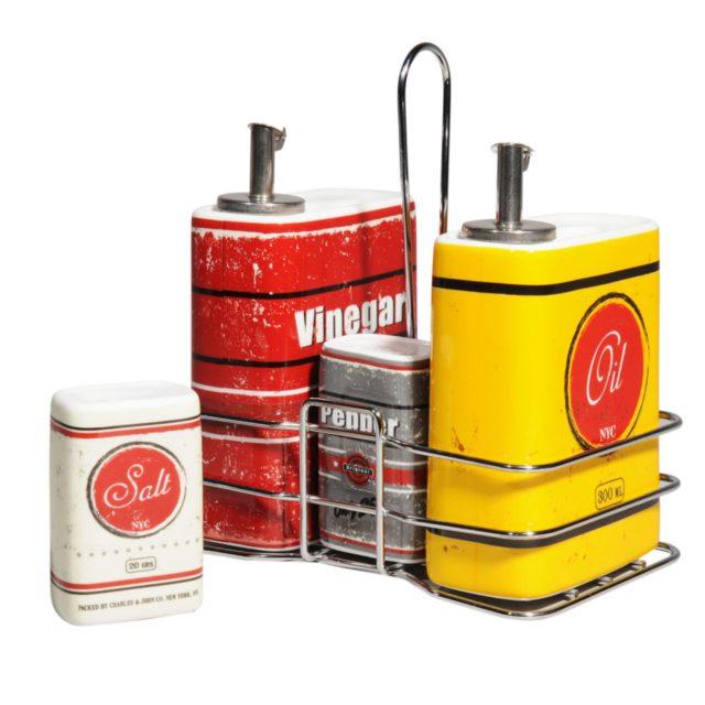 cadeau deco cuisine repas condiments decoration table vintage