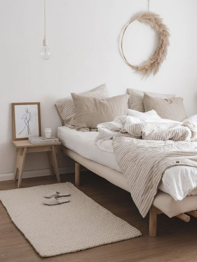 chambre style nature chic exemple slow couleurs