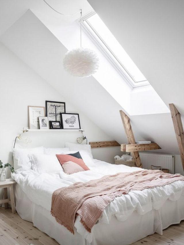 combles aménagement chambre ado exemple mansarde lumineuse