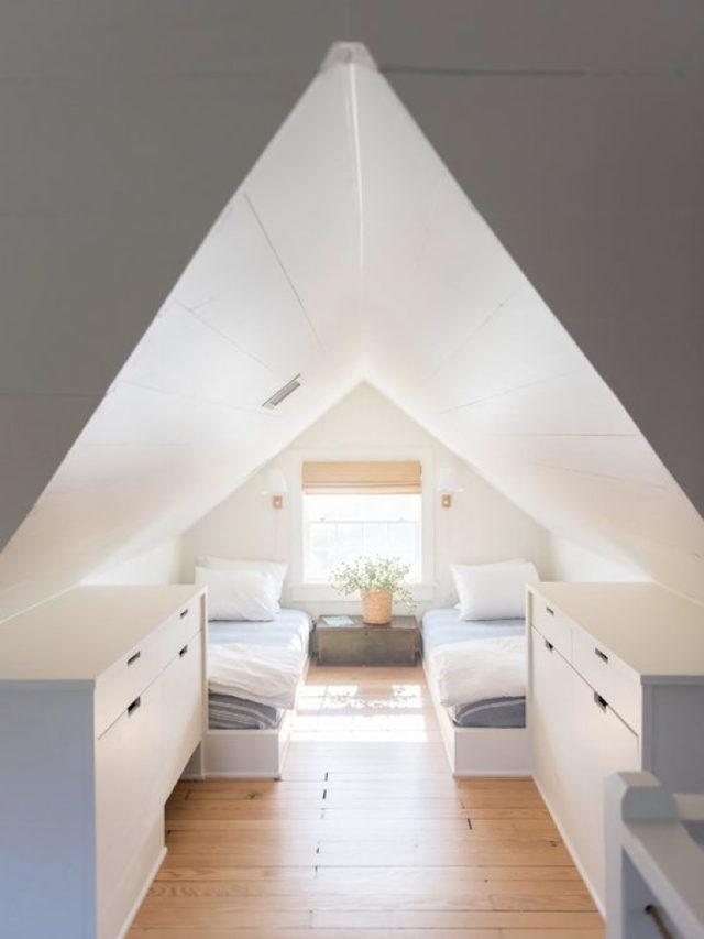 combles aménagement chambre ado exemple double petit espace sous toiture
