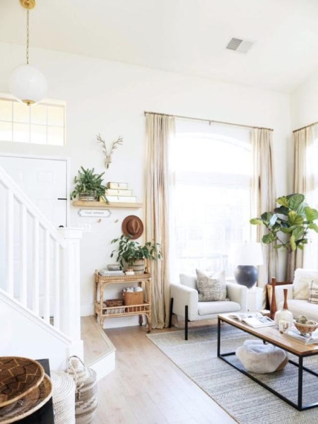 comment choisir voilage salon lumineux classique slow couleur blanc beige