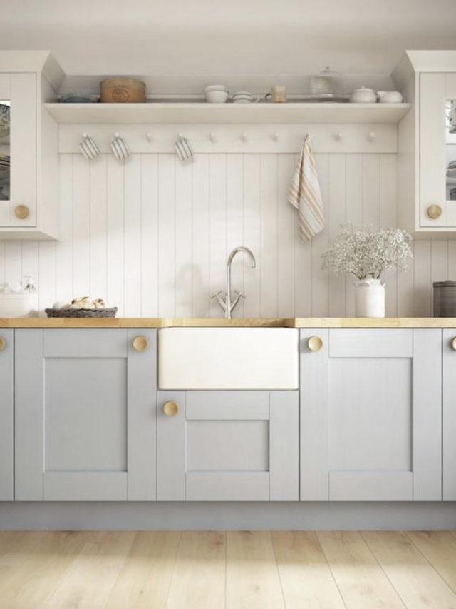 couleur deco blanc tendance cuisine charme