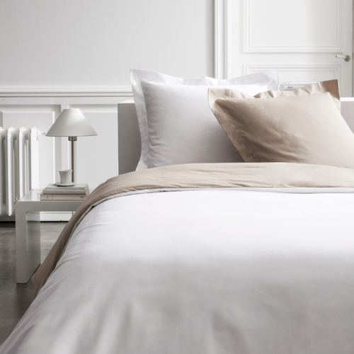 deco chambre blanc shopping parure de lit simple