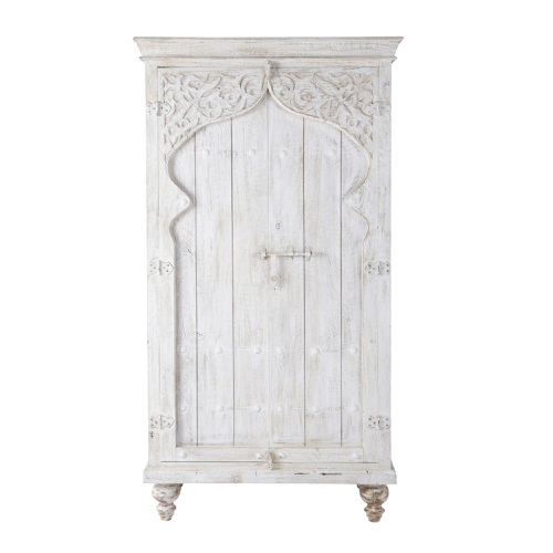 deco chambre blanc shopping armoire style voyage oriental inde