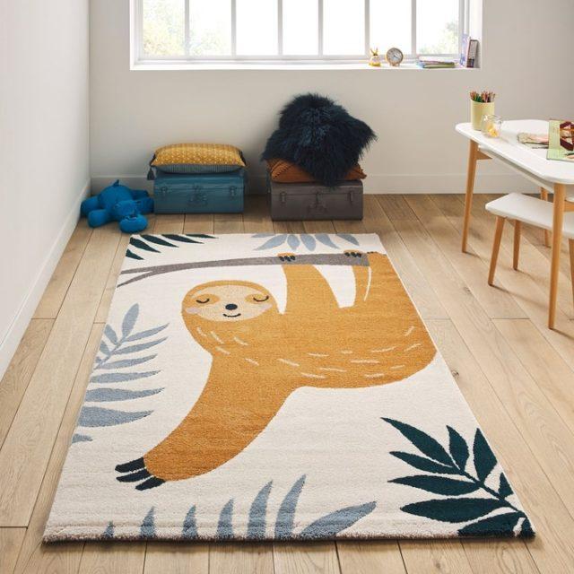 deco chambre enfant ecoresponsable tapis made in Belgique
