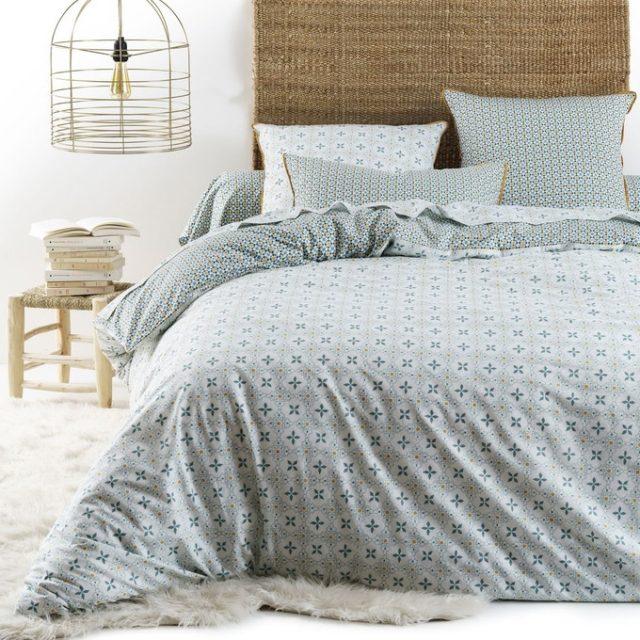 deco chambre parentale ecoresponsable parure de lit durable