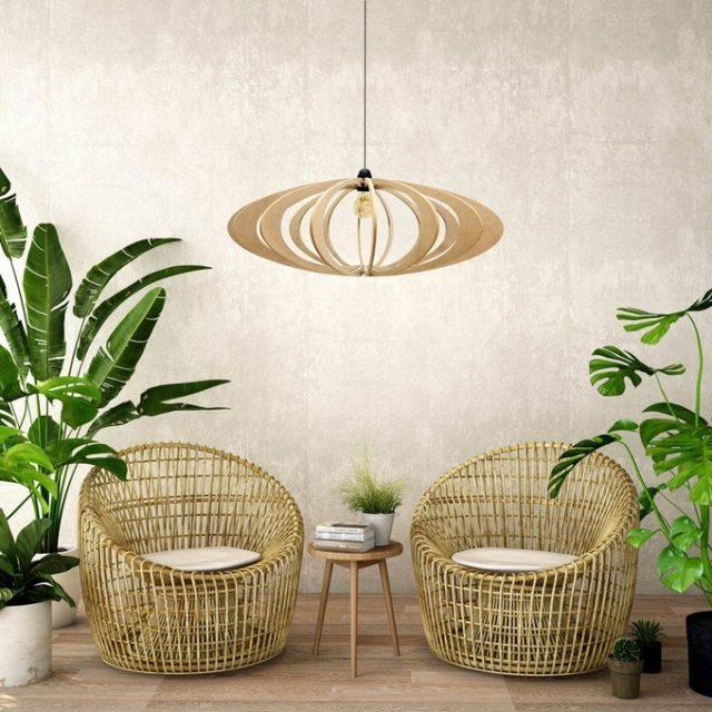 deco ecoresponsable cadeau noel luminaire durable bois
