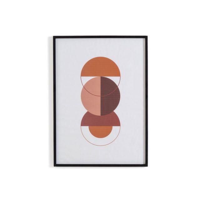deco entree cadre affiche decoratiion motif moderne slow arty