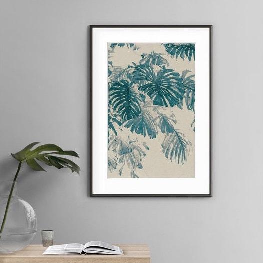 deco entree cadre affiche affiche illustration photo palmier decoration exotique