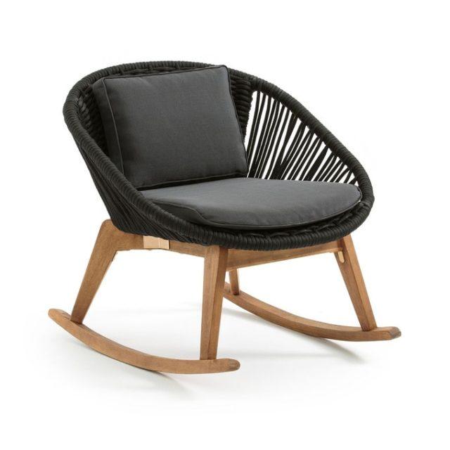 deco salon ecoresponsable la redoute fauteuil a bascule
