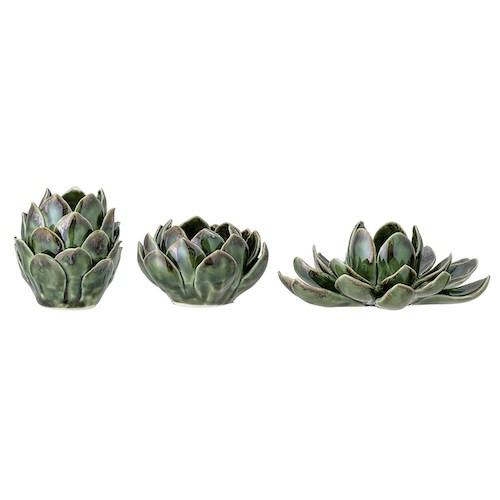 deco sympa a offrir a noel  bougeoir cactus