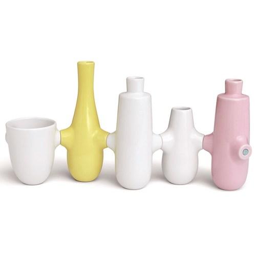 deco sympa a offrir a noel vase et bougeoir coloré design