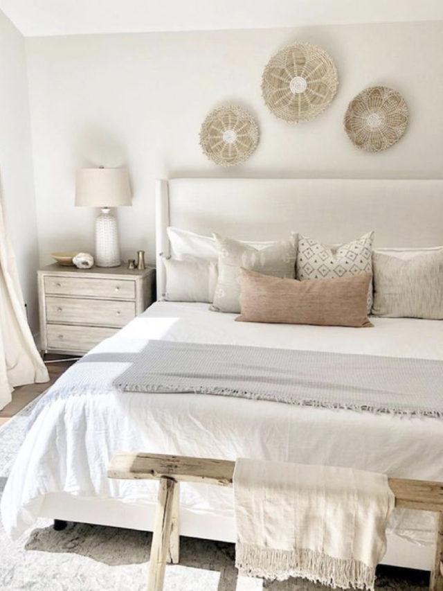 decoration chambre blanche exemple classique et elegant