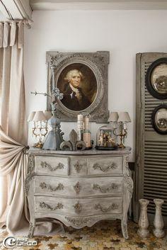 decoration classique chic commode ancienne