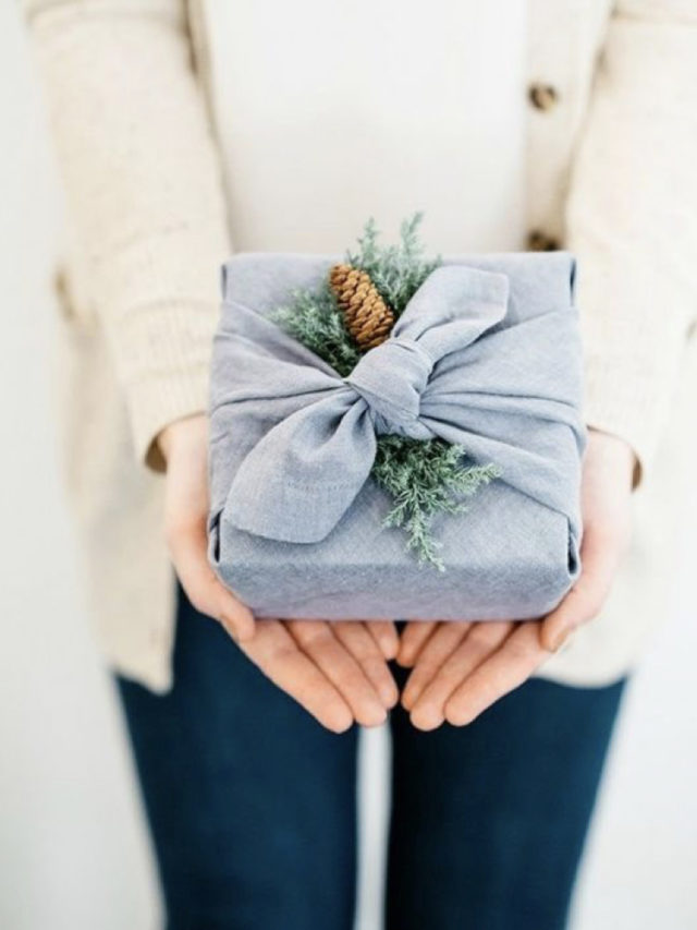 emballage cadeau durable ecologique japon foulard