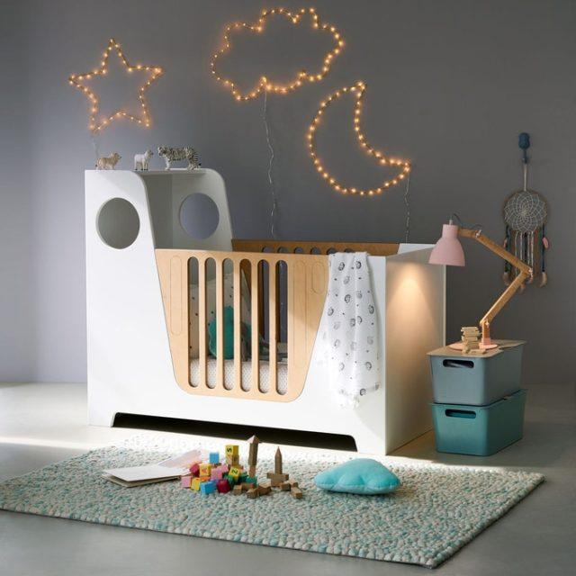 enfant cadeau noel deco berceau bébé design