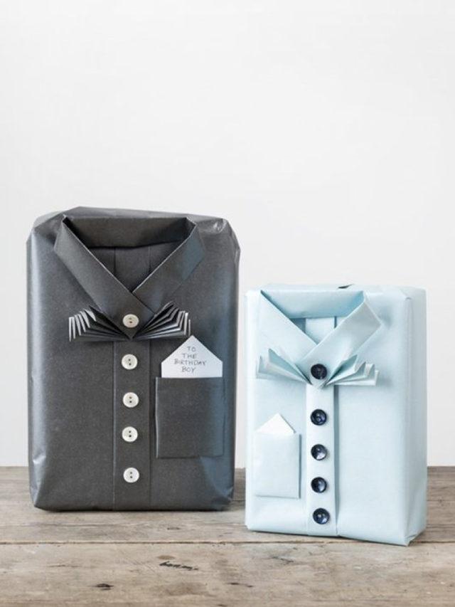 exemple papier cadeau recyclé papier de soie boite a chaussure