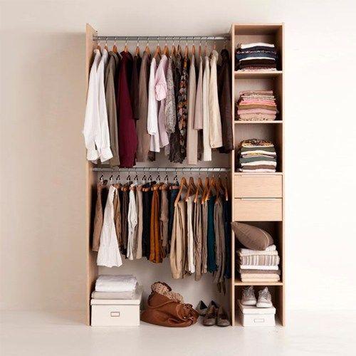 gain de place petite armoire astuce exemple