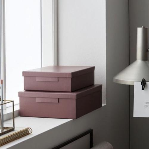 gain de place armoire rangement pas cher boite déco