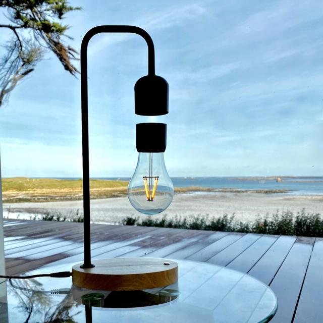 lampe à poser alba levitation ecoresponsable