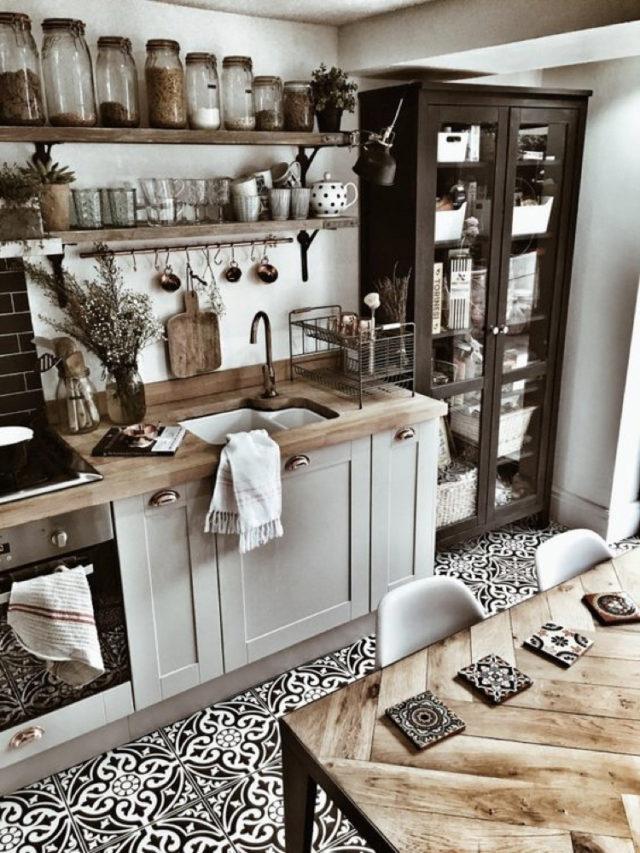 nesting decoration interieure cosy cuisine classique