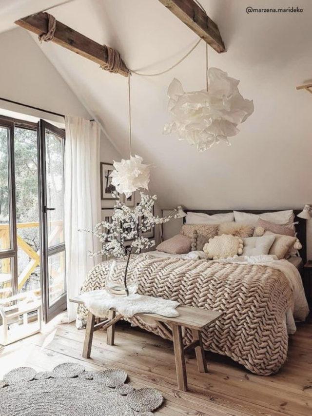nesting decoration interieure cosy chambre hygge