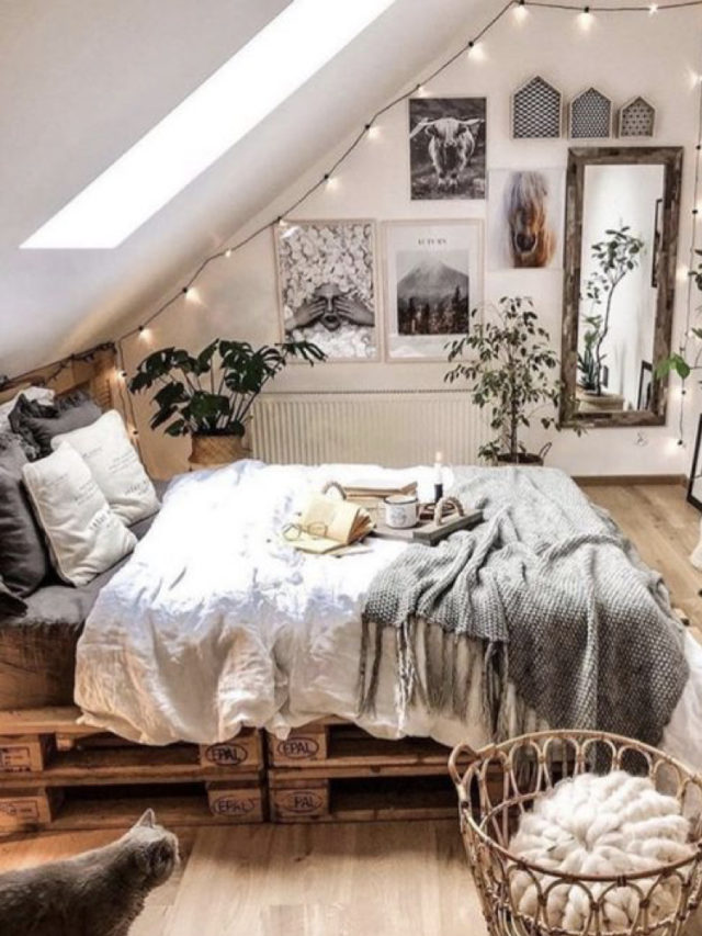 nesting decoration interieure cosy lit palette hygge