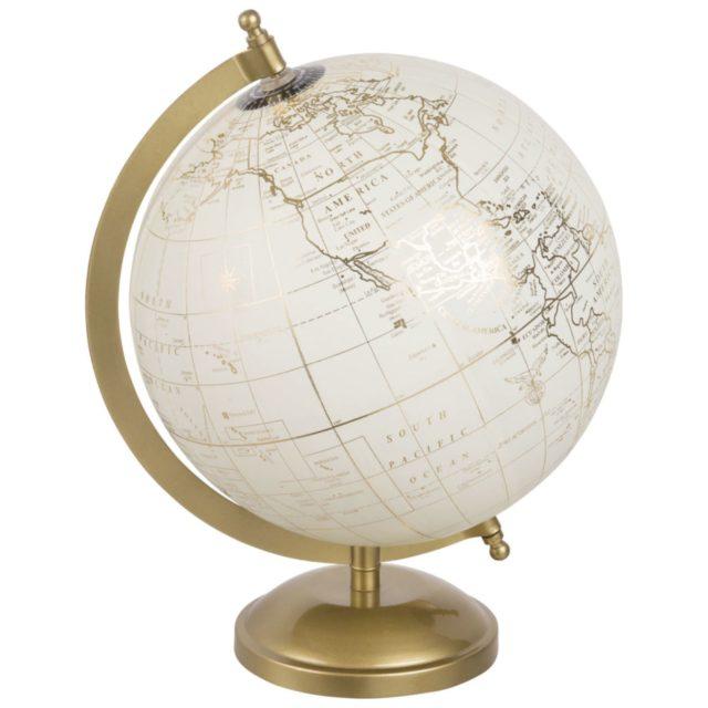 noel cadeau deco 1e appart maisons du monde globe terrestre decoratif