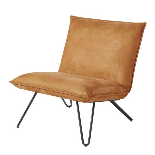offrir modilier deco noel fauteuil cuir rétro vintage