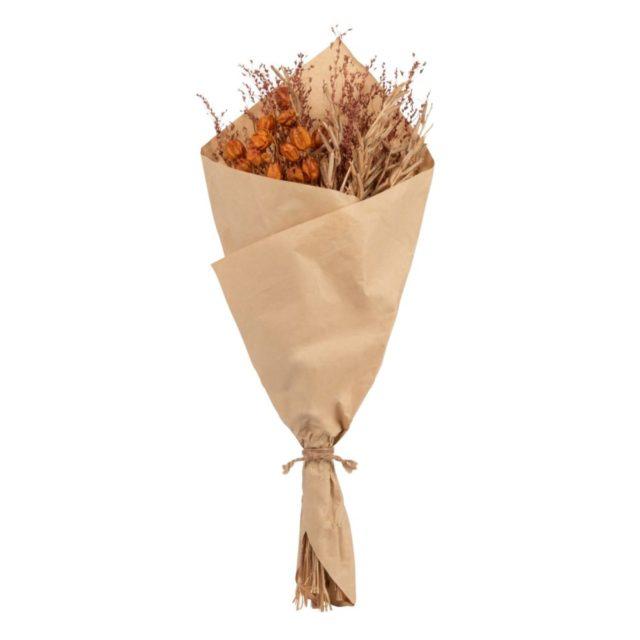 offrir mobilier deco noel bouquet fleurs séchées naturelles