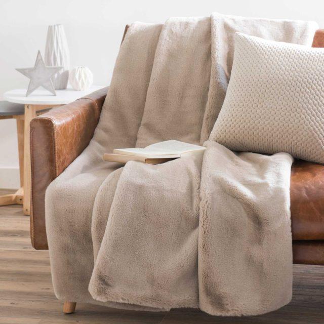 offrir mobilier deco noel plaid famille salon
