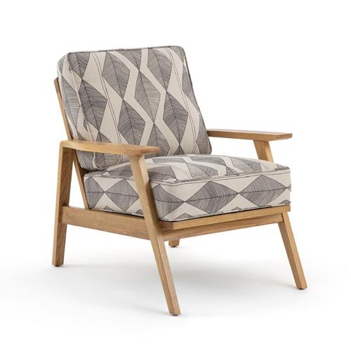 ou trouver fauteuil annee 50 beige motif