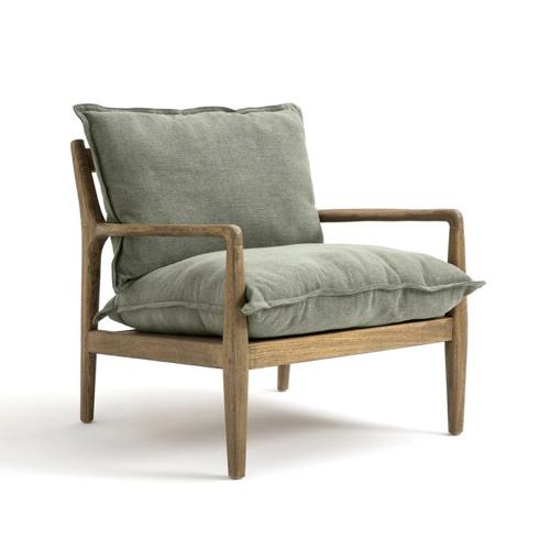 ou trouver fauteuil vintage vert sauge