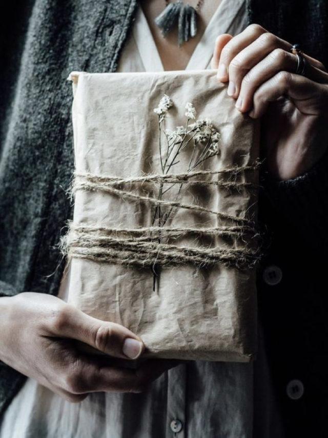 papier cadeau deco naturelle slow deco DIY