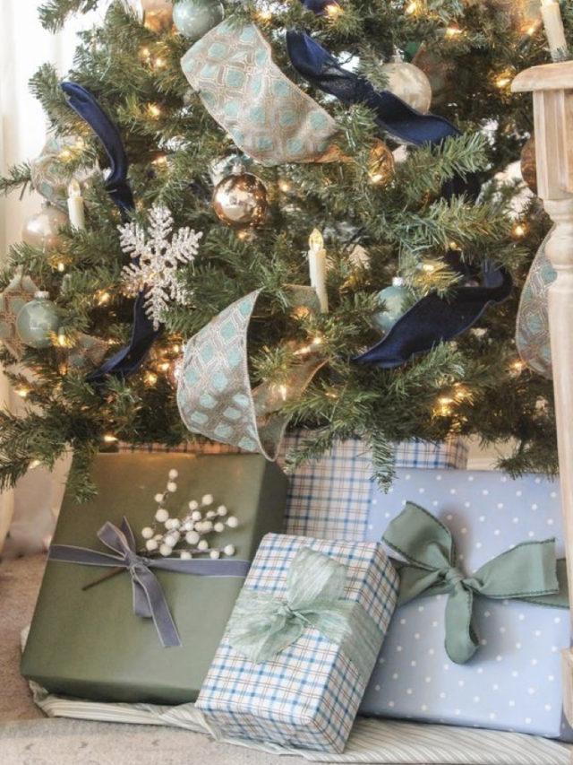 paquet cadeau coloré exemple couleur anglais