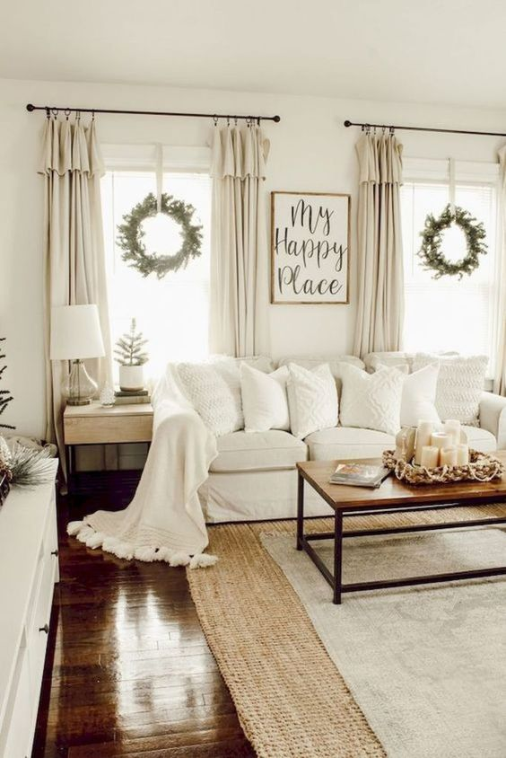 salon blanc style campagne chic exemple cosy