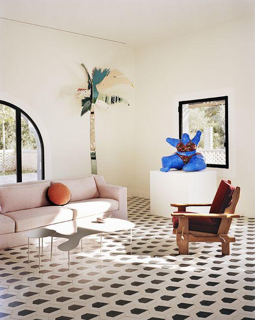 salon blanc style riviera exemple decoration