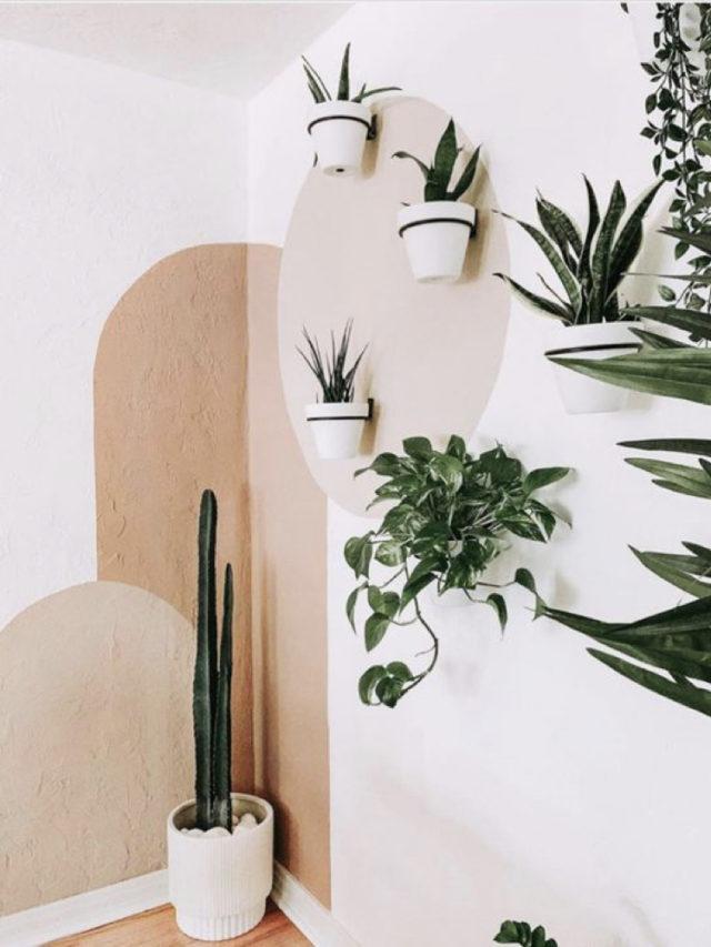 salon lumineux couleur exemple peindre les angles manière originale couleur beige rosé