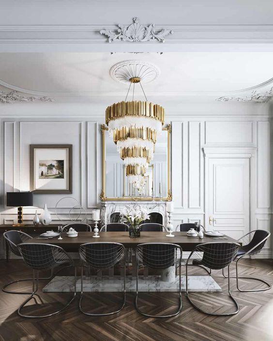 style classique moulures murs et plafond