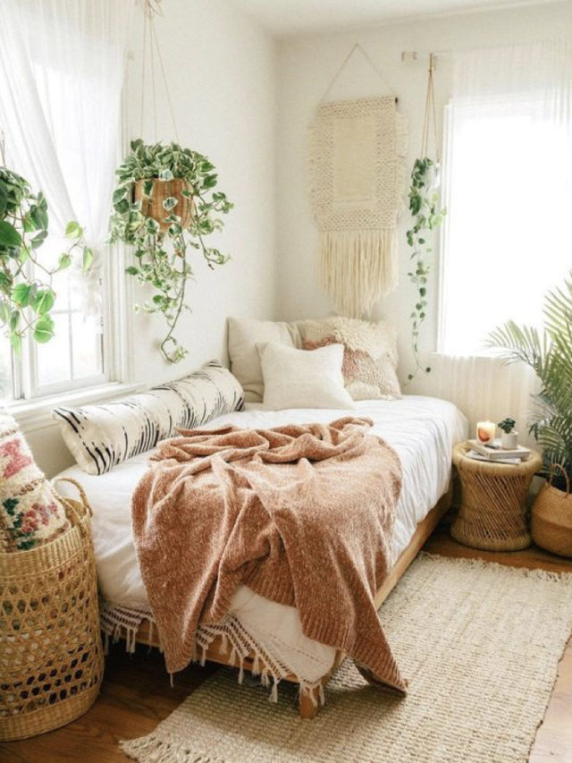 style nature petite chambre moderne exemple