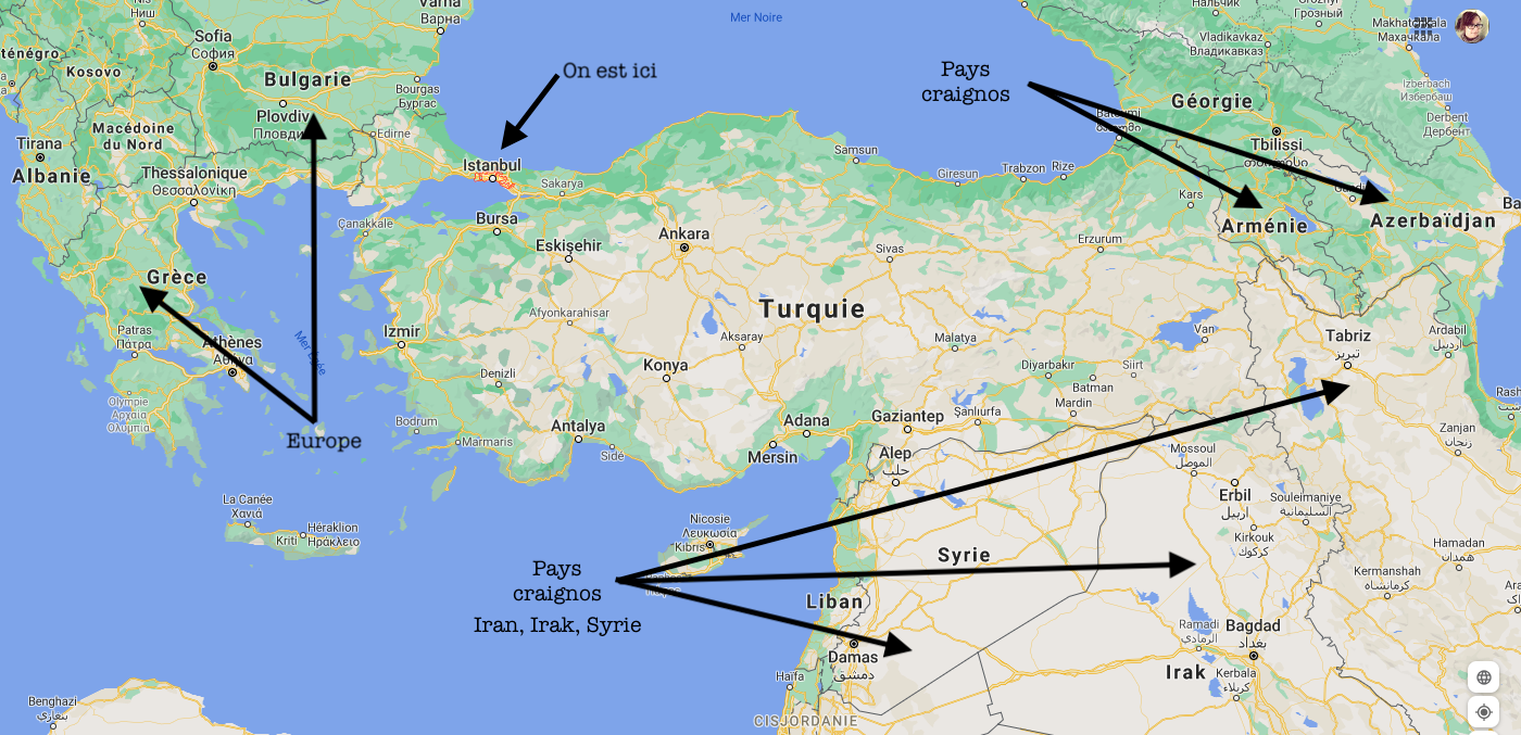 turquie refugies pour les nuls Istanbul