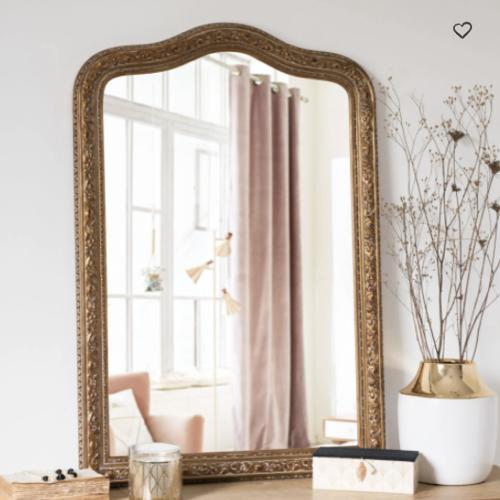 accessoire deco pas cher salle a manger miroir classique chic